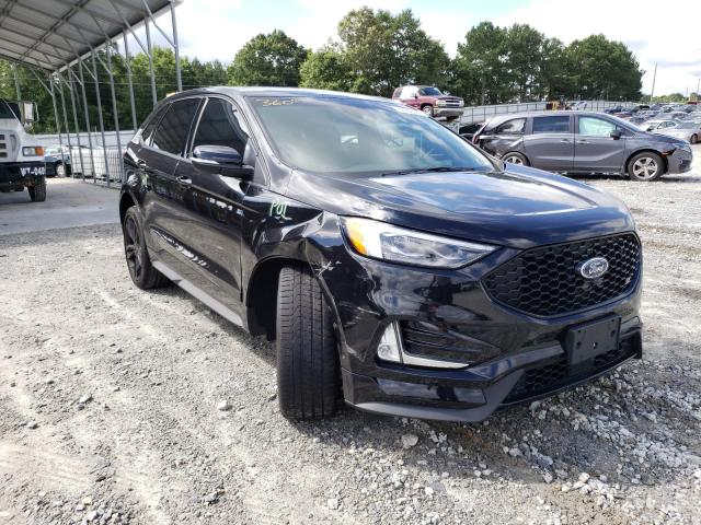Ford Edge ST salvage cars for sale: 2019 Ford Edge ST