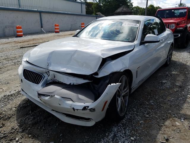 из сша 2017 BMW 430I  WBA4U7C57H5D43375
