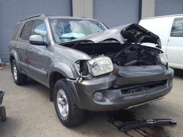 Salvage cars for sale from Copart Eugene, OR: 2005 Toyota Sequoia SR
