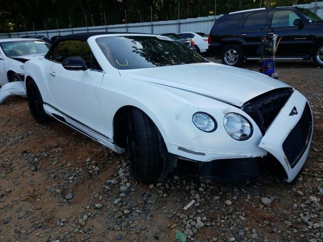 Bentley Vehiculos salvage en venta: 2012 Bentley Continental