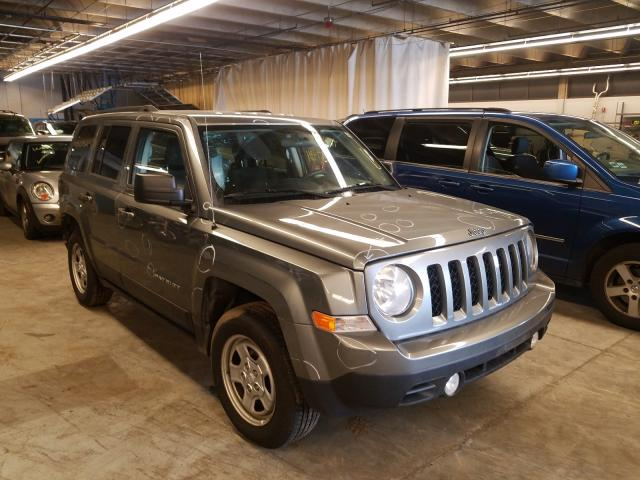 Jeep Patriot SP salvage cars for sale: 2014 Jeep Patriot SP