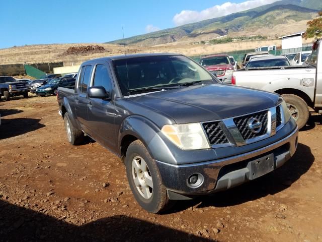 Salvage cars for sale from Copart Kapolei, HI: 2008 Nissan Frontier C