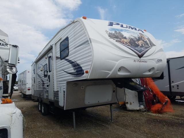 Puma salvage cars for sale: 2011 Puma Trailer