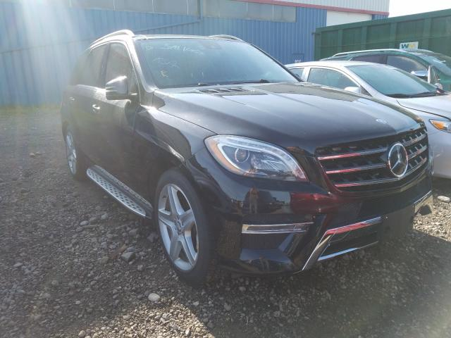 Mercedes-Benz salvage cars for sale: 2013 Mercedes-Benz ML 350 BLU