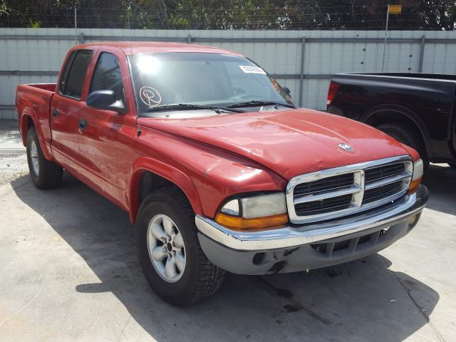 Dodge Dakota Quattro salvage cars for sale: 2003 Dodge Dakota Quattro