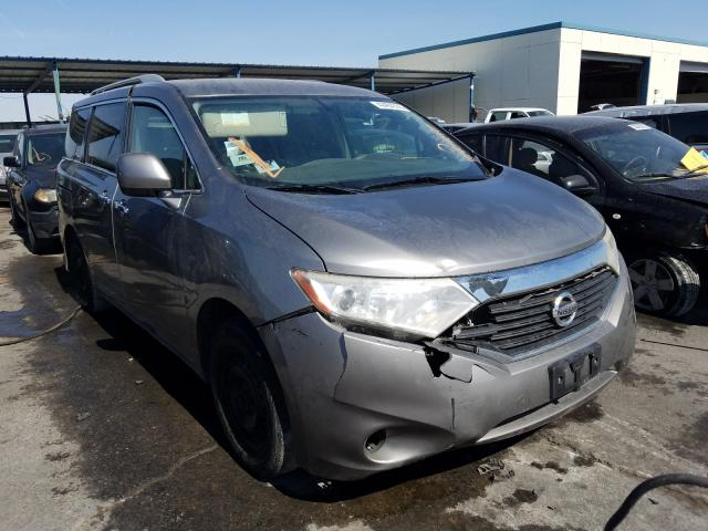Nissan Quest S salvage cars for sale: 2012 Nissan Quest S