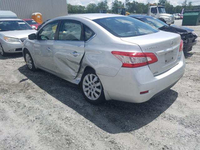 купить 2014 Nissan Sentra S 1.8L 3N1AB7AP7EY234509