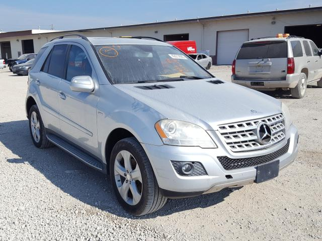 Mercedes-Benz ML 350 BLU salvage cars for sale: 2010 Mercedes-Benz ML 350 BLU