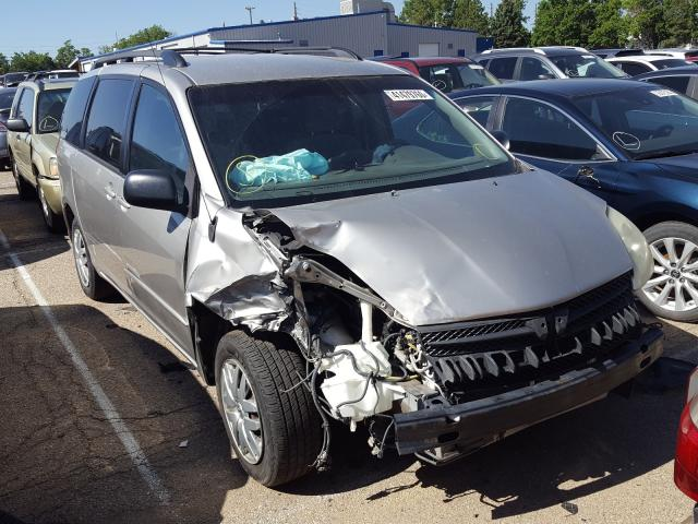 Toyota Sienna CE salvage cars for sale: 2005 Toyota Sienna CE
