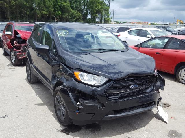 Salvage cars for sale from Copart Dunn, NC: 2019 Ford Ecosport S