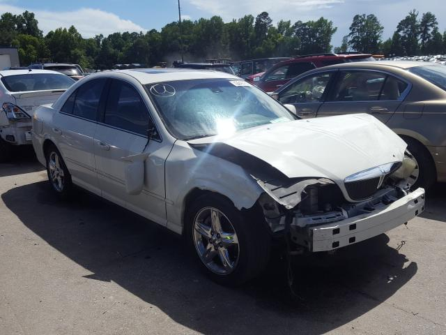 Salvage cars for sale from Copart Dunn, NC: 2002 Lincoln LS