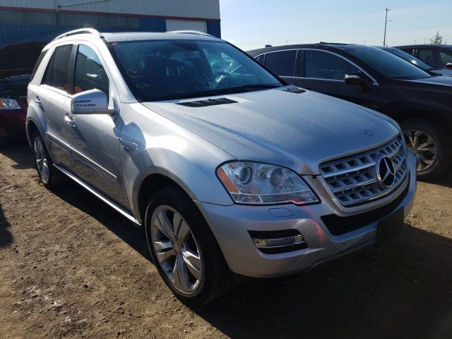 Mercedes-Benz ML 350 BLU salvage cars for sale: 2011 Mercedes-Benz ML 350 BLU