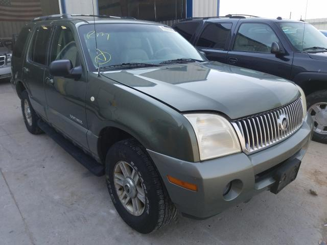Mercury Mountainee salvage cars for sale: 2002 Mercury Mountainee