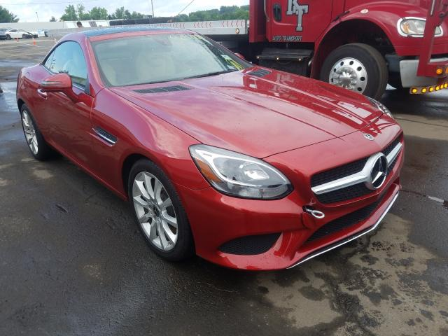 2018 Mercedes-benz Slc 300 2.0. Lot 42422820 Vin WDDPK3JA3JF156068