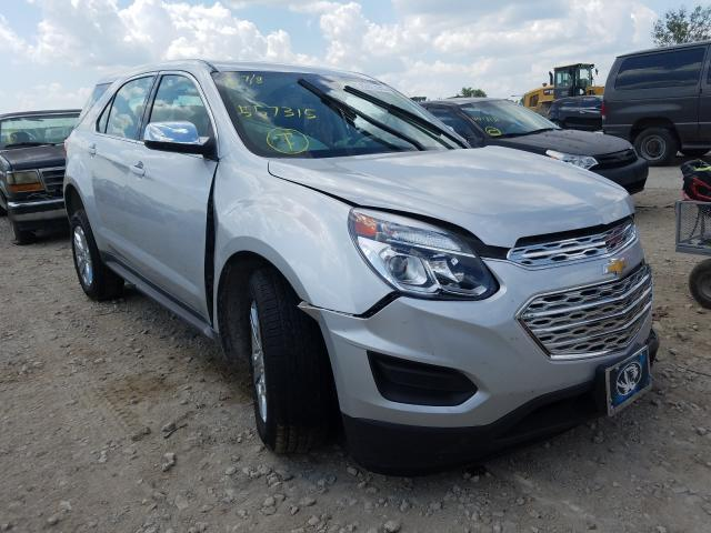 Vehiculos salvage en venta de Copart Kansas City, KS: 2017 Chevrolet Equinox LS