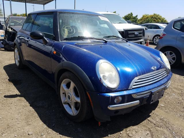 Mini Cooper salvage cars for sale: 2004 Mini Cooper
