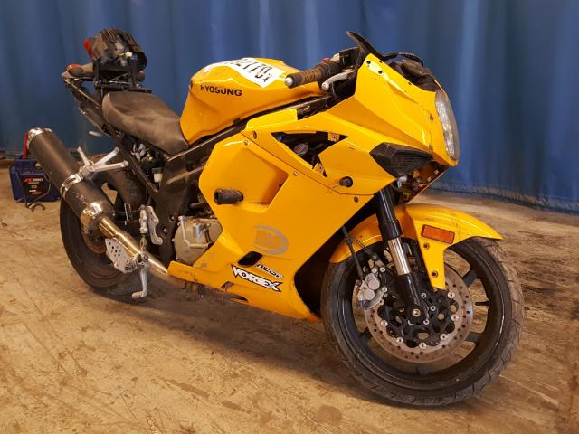Hyosung salvage cars for sale: 2008 Hyosung GT650