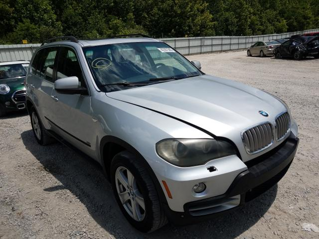 Salvage cars for sale from Copart Hurricane, WV: 2007 BMW X5 4.8I