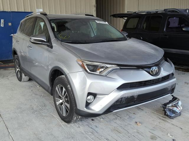 Toyota Rav4 XLE salvage cars for sale: 2016 Toyota Rav4 XLE