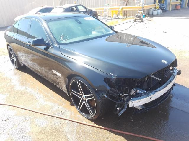BMW salvage cars for sale: 2011 BMW 750 I