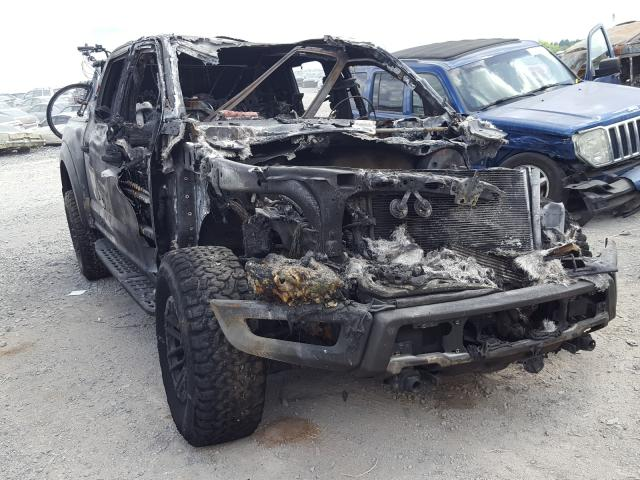 Salvage cars for sale from Copart Madisonville, TN: 2020 Ford F150 Rapto