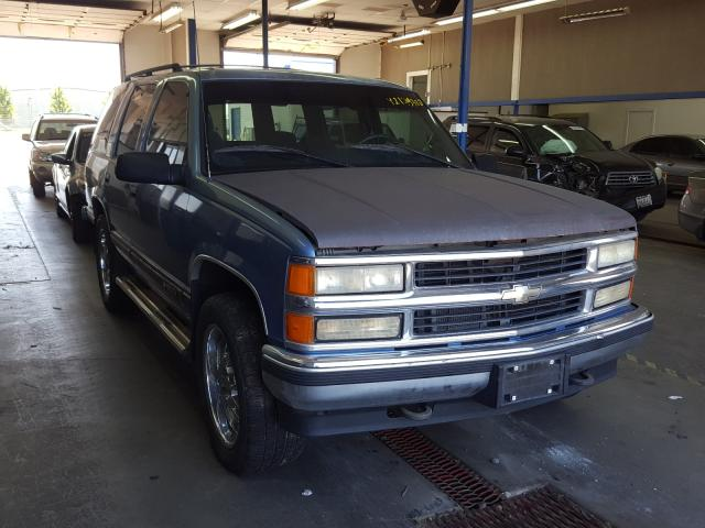 Salvage cars for sale from Copart Pasco, WA: 1996 Chevrolet Tahoe K150