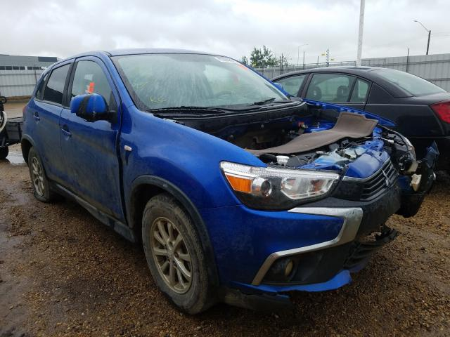 Salvage cars for sale from Copart Nisku, AB: 2017 Mitsubishi RVR SE