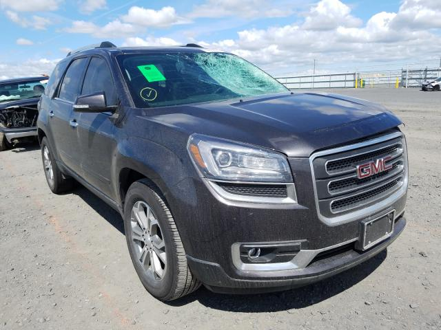 Salvage cars for sale from Copart Airway Heights, WA: 2015 GMC Acadia SLT