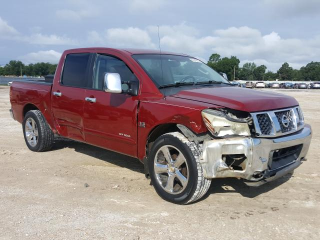 Salvage cars for sale from Copart Newton, AL: 2004 Nissan Titan XE