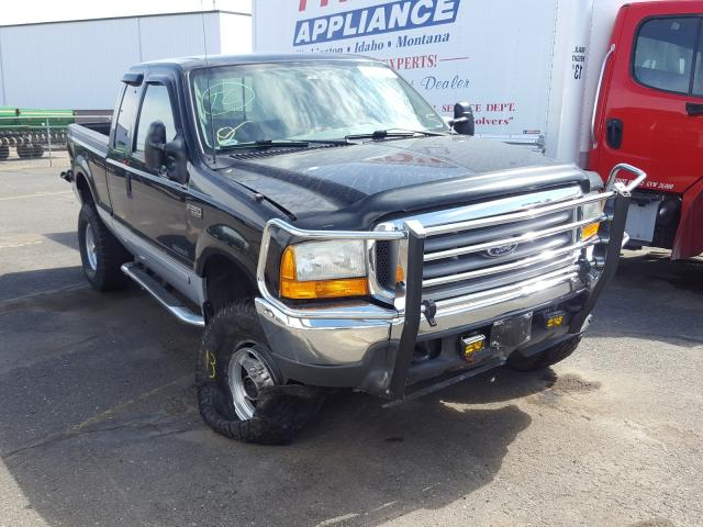 Salvage cars for sale from Copart Pasco, WA: 2001 Ford F250 Super