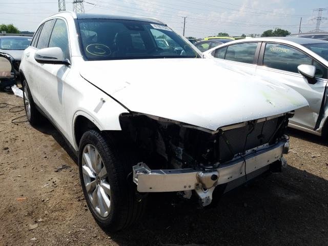 Mercedes-Benz GLC 300 4M salvage cars for sale: 2020 Mercedes-Benz GLC 300 4M