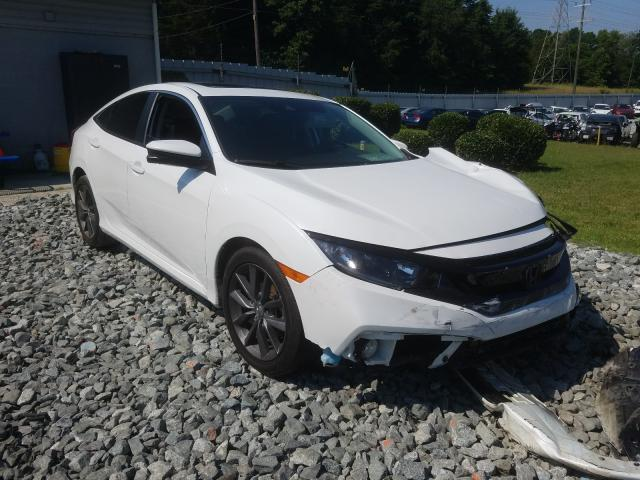 Salvage cars for sale from Copart Mebane, NC: 2019 Honda Civic EXL