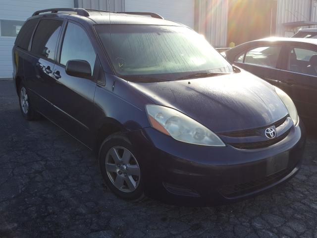 Salvage cars for sale from Copart Chambersburg, PA: 2007 Toyota Sienna CE