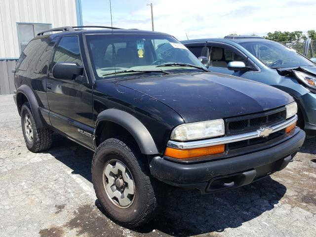 Salvage cars for sale from Copart Chambersburg, PA: 2001 Chevrolet Blazer