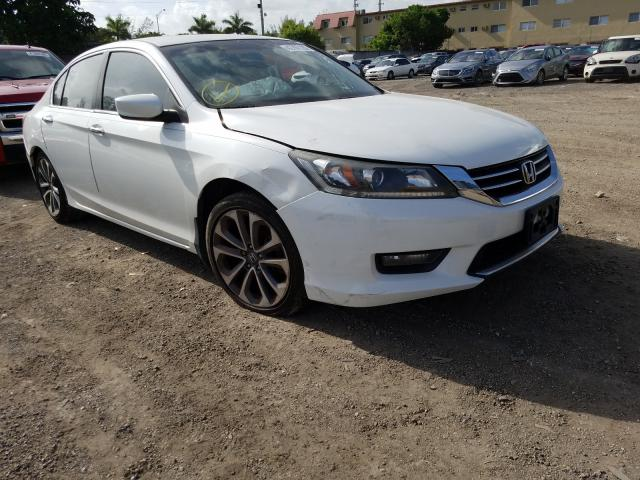 Honda Accord Sport salvage cars for sale: 2014 Honda Accord Sport