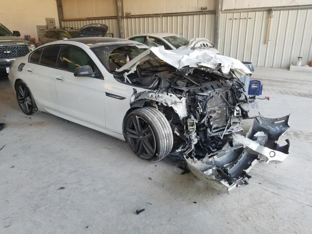 BMW 650 I Gran salvage cars for sale: 2015 BMW 650 I Gran
