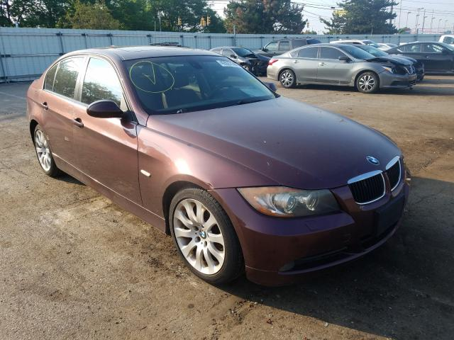 BMW 3 Series salvage cars for sale: 2006 BMW 3 Series