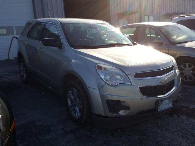 Salvage cars for sale from Copart Chambersburg, PA: 2013 Chevrolet Equinox LS