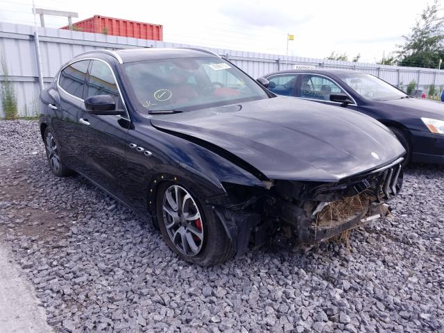 Maserati Levante LU salvage cars for sale: 2017 Maserati Levante LU