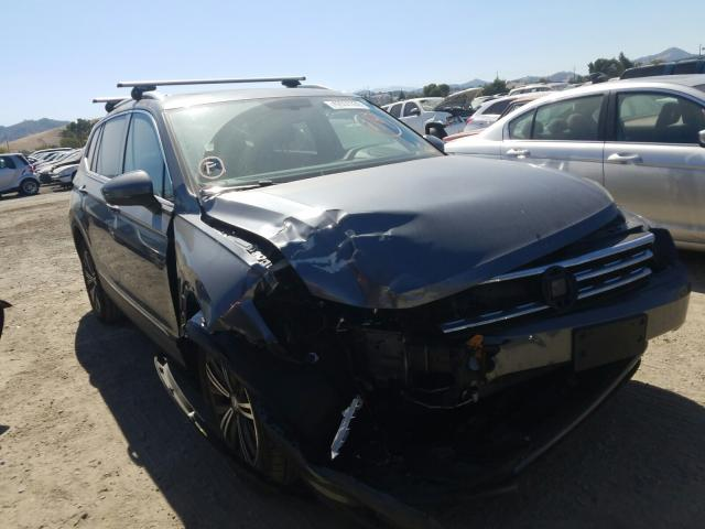 Salvage cars for sale from Copart San Martin, CA: 2018 Volkswagen Tiguan SE