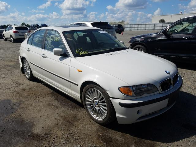 Salvage cars for sale from Copart Fredericksburg, VA: 2003 BMW 330 I