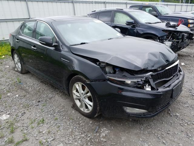 Salvage cars for sale from Copart Albany, NY: 2013 KIA Optima EX