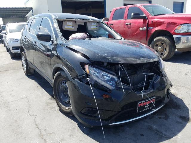 Salvage cars for sale from Copart Anthony, TX: 2016 Nissan Rogue S