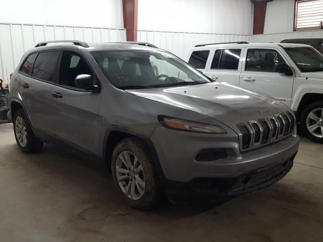 Salvage cars for sale from Copart Mercedes, TX: 2015 Jeep Cherokee S