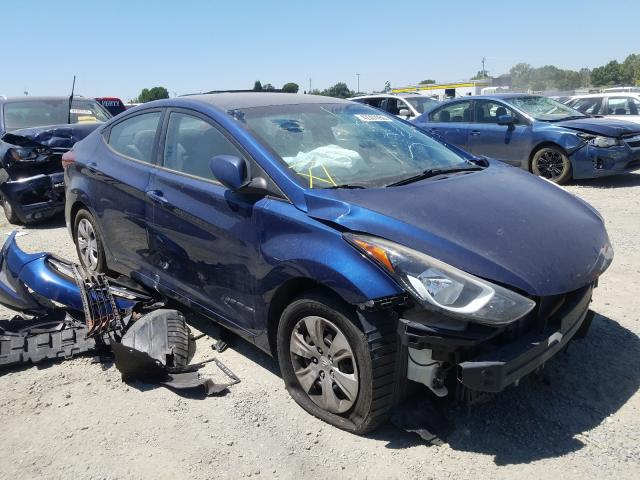 Hyundai salvage cars for sale: 2016 Hyundai Elantra SE