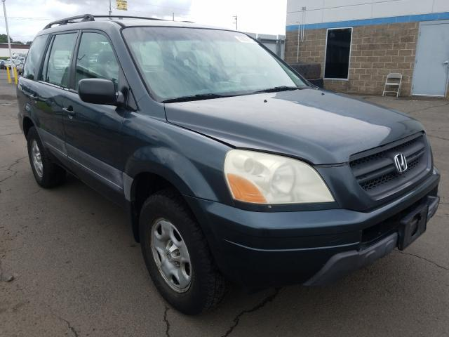 Honda salvage cars for sale: 2003 Honda Pilot LX