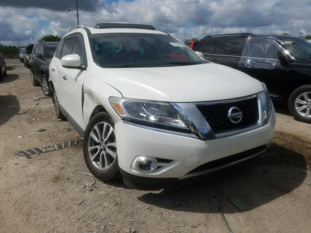 Salvage cars for sale from Copart Indianapolis, IN: 2014 Nissan Pathfinder