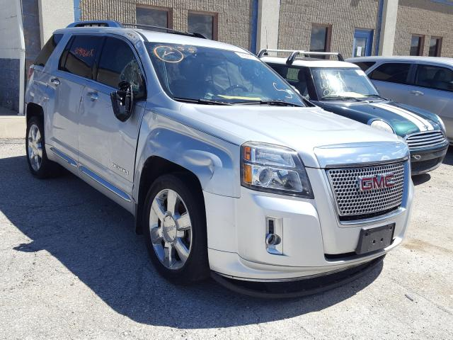 Salvage cars for sale from Copart Indianapolis, IN: 2013 GMC Terrain DE