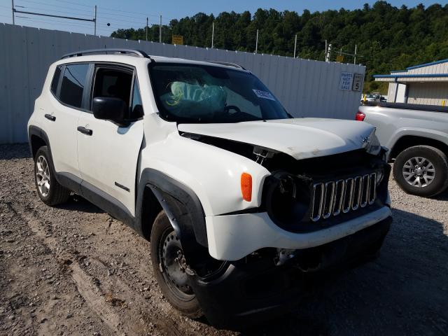 Jeep salvage cars for sale: 2018 Jeep Renegade S