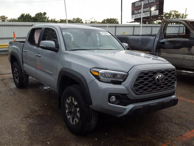 Salvage cars for sale from Copart Wichita, KS: 2020 Toyota Tacoma DOU